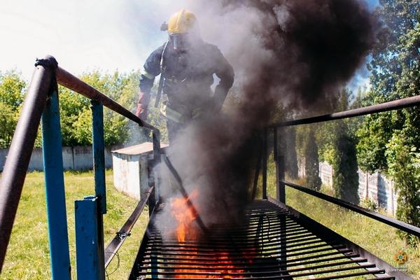 Як тренуються рятувальники на Тернопільщині (Фоторепортаж)