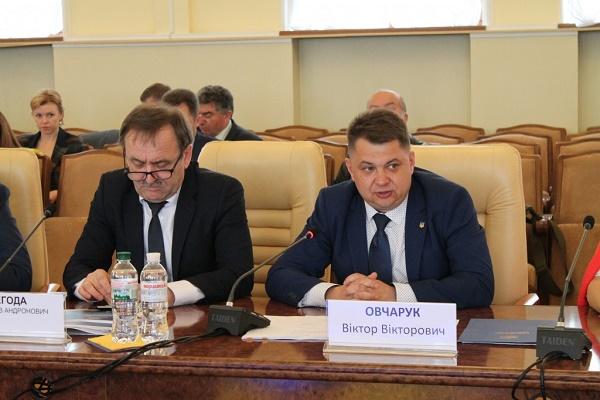 Віктор Овчарук взяв участь у всеукраїнській фаховій майстерні на тему медицини, що відбулась у Києві