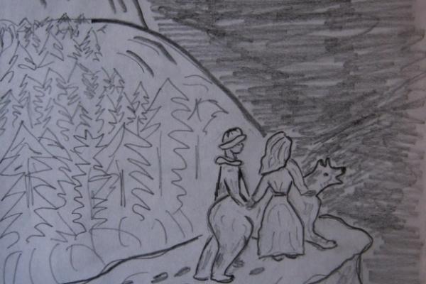 Казка про ведмедицю