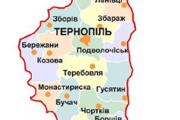 На Тернопільщині публічно представлять схему планування території