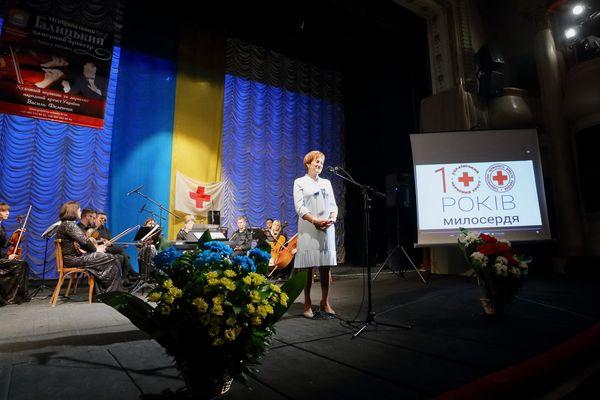 У Тернополі Товариство Червоного Хреста України відзначило 100-річчя (Фото)