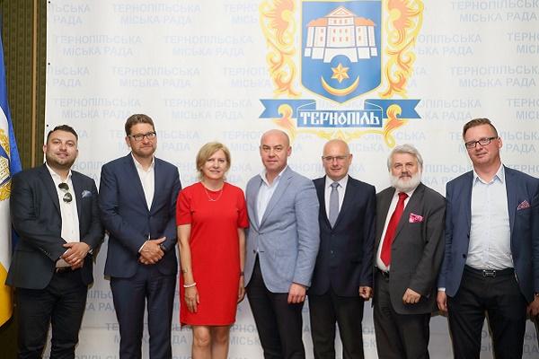 Польська делегація з міста-партнера Ельблонг прибула в Тернопіль
