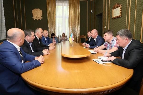 Протягом декількох днів у Тернополі перебуває офіційна делегація з міста Батумі