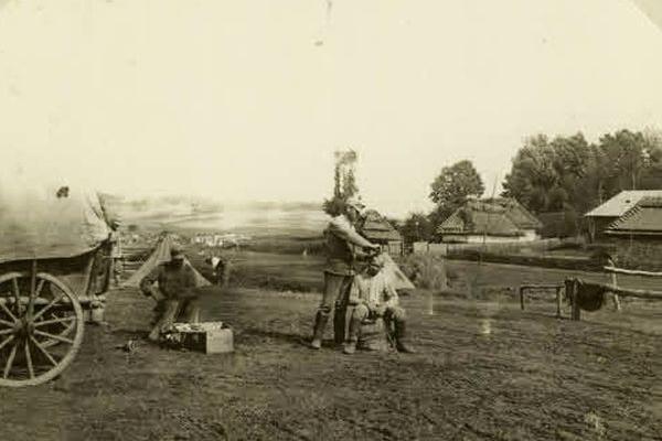 Село Пановичі на Тернопільщині у Першу світову війну: ретро фото