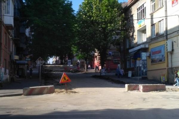В Тернополі після ремонтів відкривають вулицю Шашкевича
