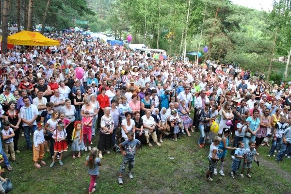 Жителі різних куточків Тернопільщини з'їхалися на фестиваль «Братина»