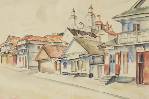 Кременець 1926 року очима художника