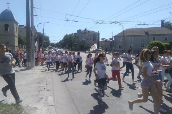 У Тернополі через студентів перекрили одну з вулиць (Фото)