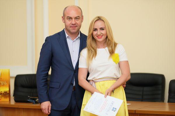 Очільник Тернополя Сергій Надал привітав та вручив подяки представникам місцевих ЗМІ (Фото)