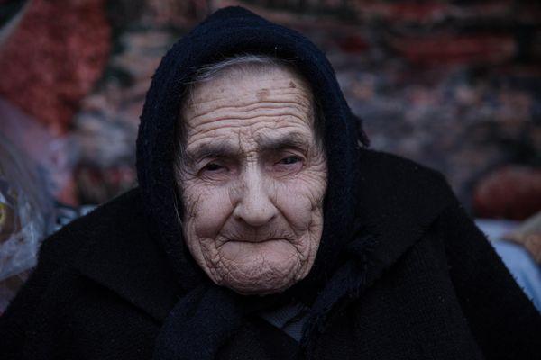 Степан Барна вручив орден 95-річній жінці (Фото)