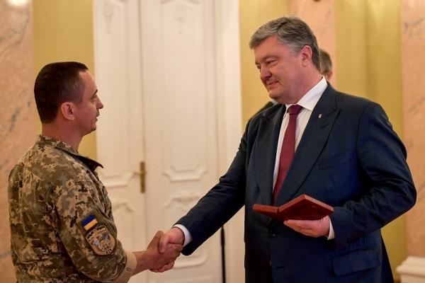 Президент вручив орден військовому журналісту з Тернополя