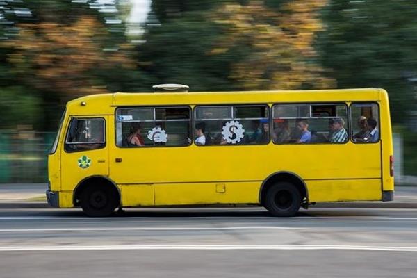 У Тернополі скандал в маршрутці (Фото, відео)