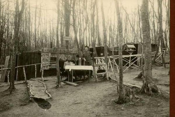 Столітні фото села Старий Тараж на Тернопільщині