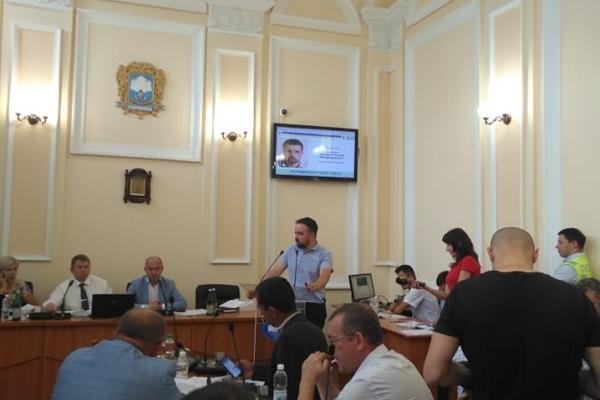Протести та курйози на черговій сесії Тернопільської міської ради