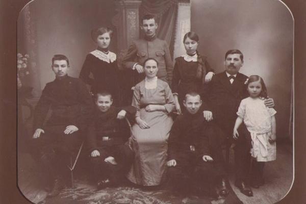 Кременчани на фото Бродського 100 років тому