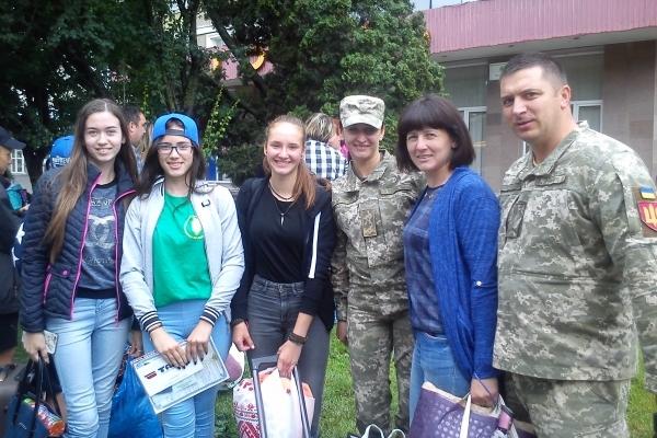 Тернопільські діти учасників АТО повернулися з відпочинку в Литві