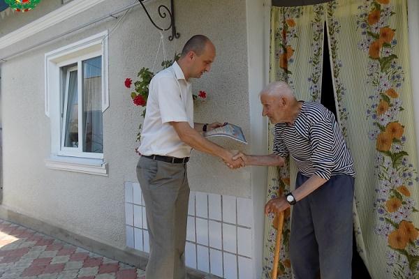 Медаль за підпільну боротьбу вручили жителю Тернопільщини