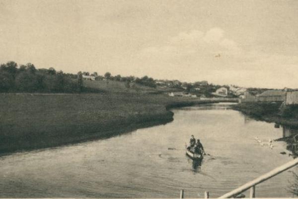 Річка Серет на ретрофото