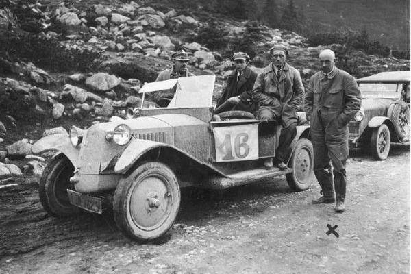 Тернопіль на шляху автоперегонів в 1925 році