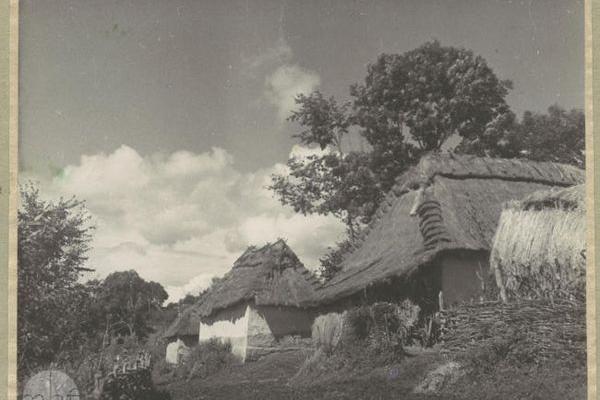Атмосферне село Літятин на фото міжвоєнного часу
