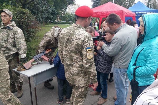 У Тернополі - «Місто професій» та ярмарок вакансій для ветеранів АТО