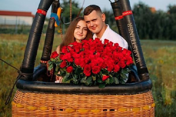 4dd5397dcfc12d Романтичне освідчення на повітряній кулі в Тернополі (Фото)
