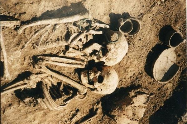 Загадкове поховання на Тернопільшині (Фото)