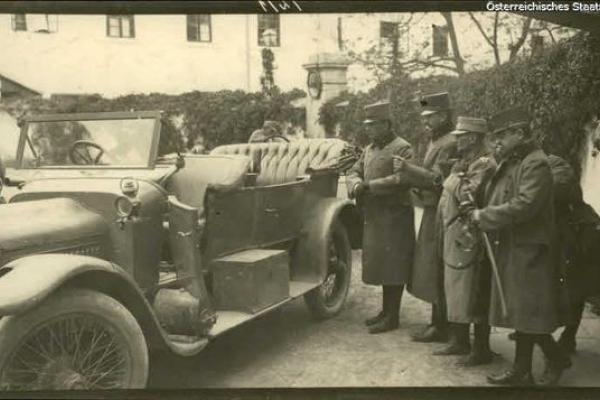 Язловець часів 1914-1918 років: ретро фото