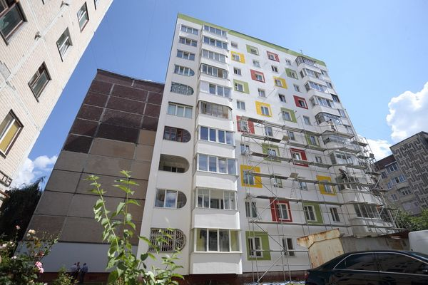 У Тернополі утеплюють будинок на умовах співфінансування (Фото)