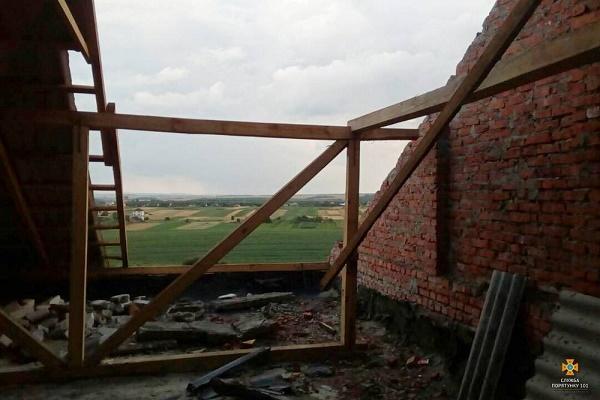 Негода завдала шкоди на Борщівщині