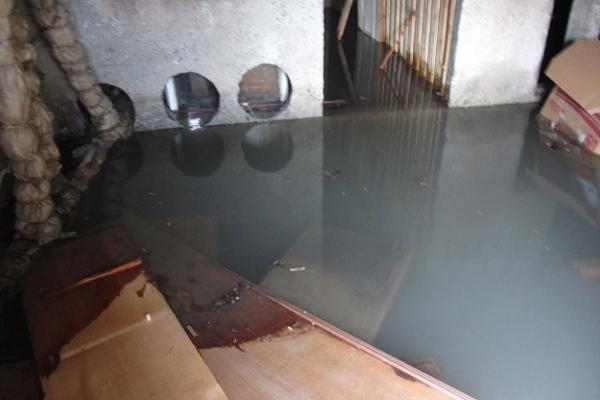 Через дощі на Тернопільщині позатоплювало підвали