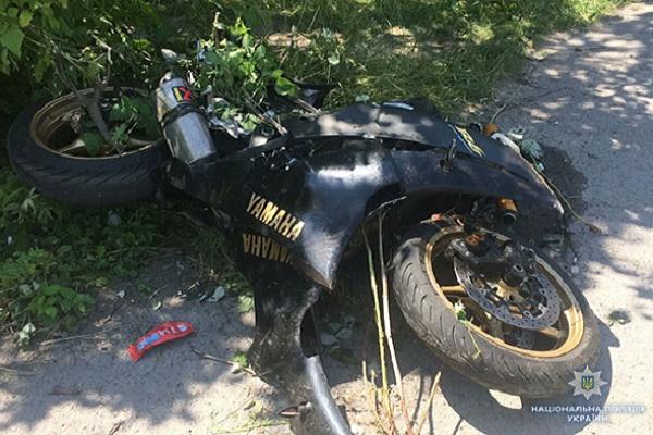 У ДТП на Тернопільщині загинув 24-річний мотоцикліст