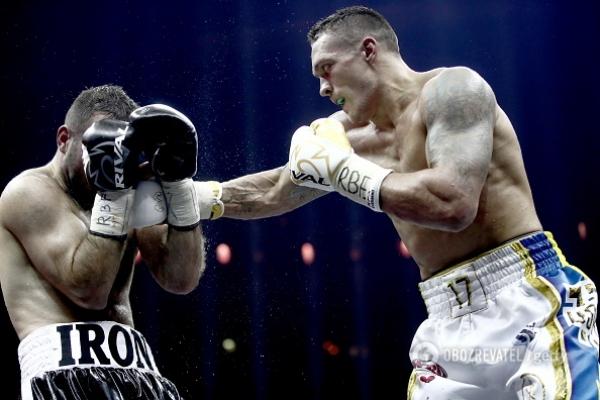 Олександр Усик став першим в історії України абсолютним чемпіоном світу