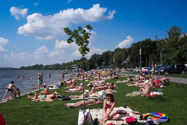 Тернополяни вміють відпочивати й без моря (Фото)