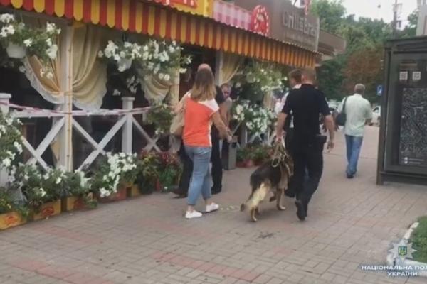 Обід у центрі Києва завершився стріляниною