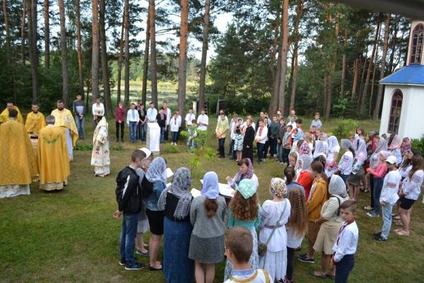 На Кременеччині відбувся Всеукраїнський молодіжний православний табір «Вірля-2018» (Фото)