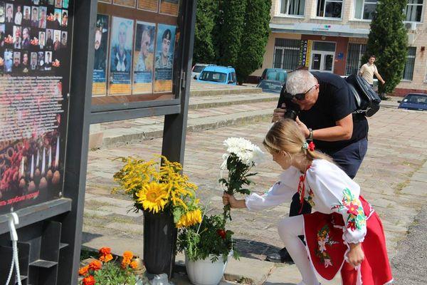 На Тернопільщині вшанували загиблого бійця Юрія Горайського