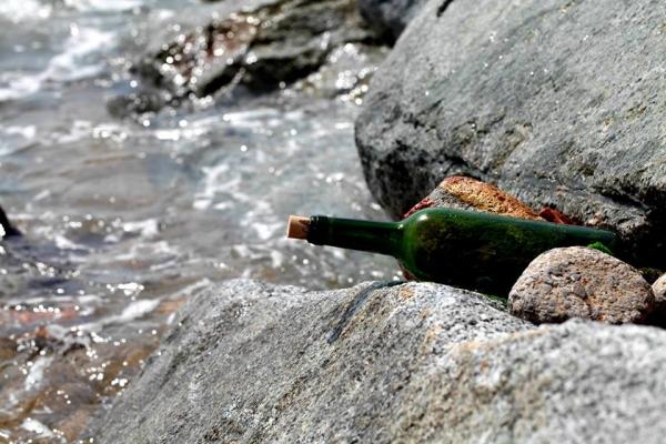 Тернополянка знайшла у Середземному морі пляшку з дивним листом