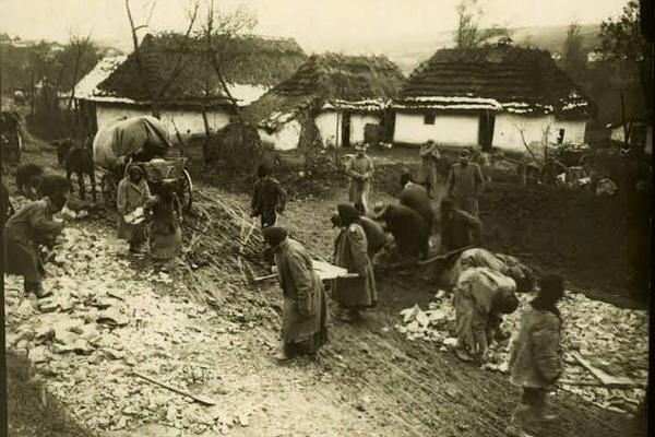 Як виглядало село Гайворонка 100 років тому