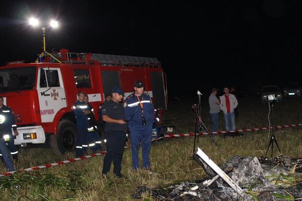 На Борщівщині розбився дельтаплан. Пілот загинув