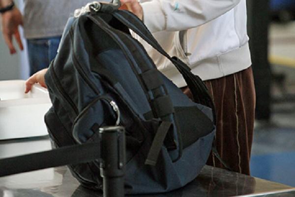 У тернополянки з камери схову викрали рюкзак (Відео)