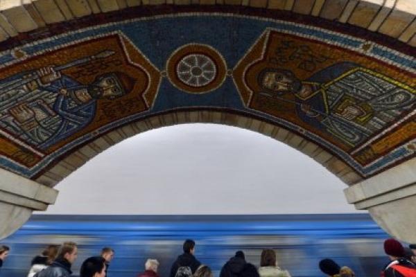 У київському метро виявили таємне послання від архітекторів (Фото)