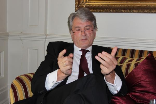 Ющенко: На президентських виборах я проголосував би за Ляшка