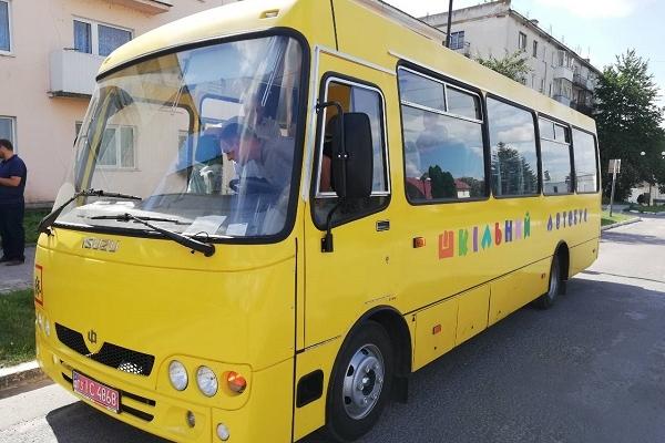 Лановецька ОТГ отримала новий шкільний автобус