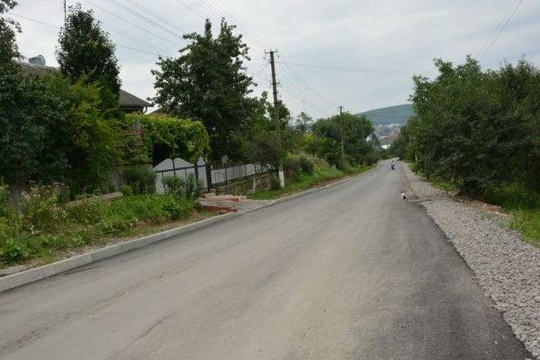 У Теребовлі відремонтували відрізок дороги за 1,5 млн грн