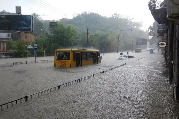 Як Львів затопило (Відео)