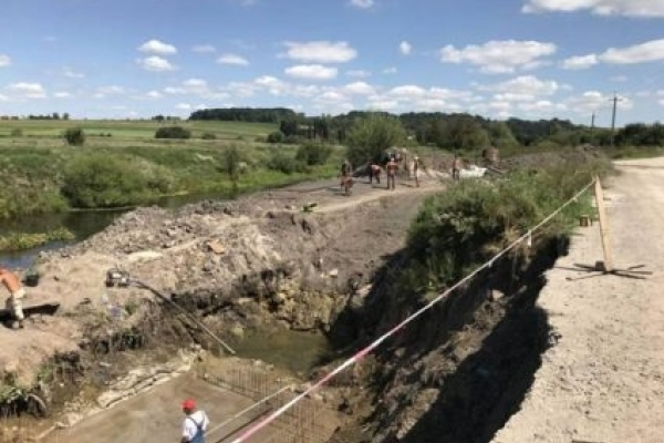 На Тернопільщині розпочали будівництво ГЕС?