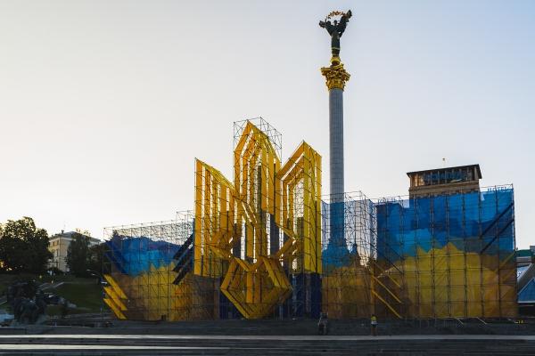 Київ перетворився на смітник після Дня Незалежності України (Фото)