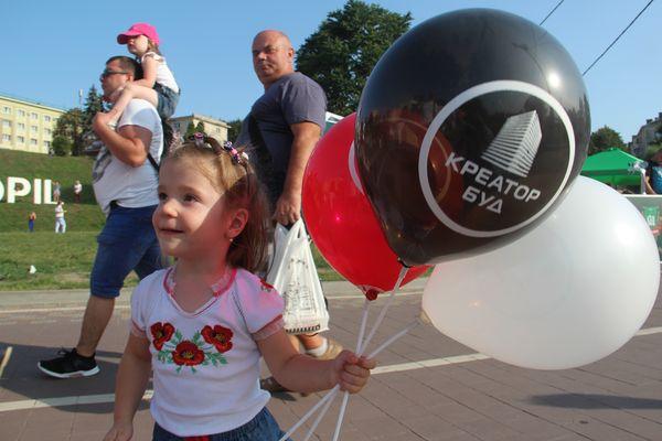 «Креатор-Буд» - традиційно підтримує День Незалежності в Тернополі