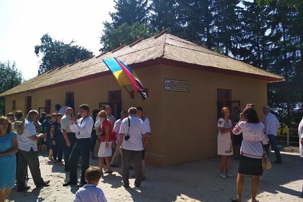 «Батьківщинівці» взяли участь у відкритті відреставрованої хати, де відбувався ІІІ Надзвичайний Великий Збір ОУН